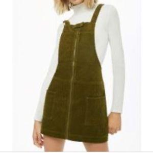 NWT Corduroy overall dress